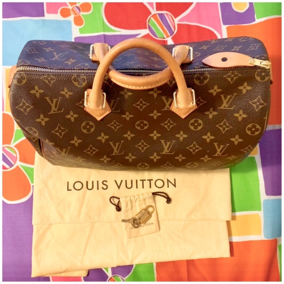 20692c8d81 Louis Vuitton Handbags - 💯Authentic Louis Vuitton monogram Speedy 35